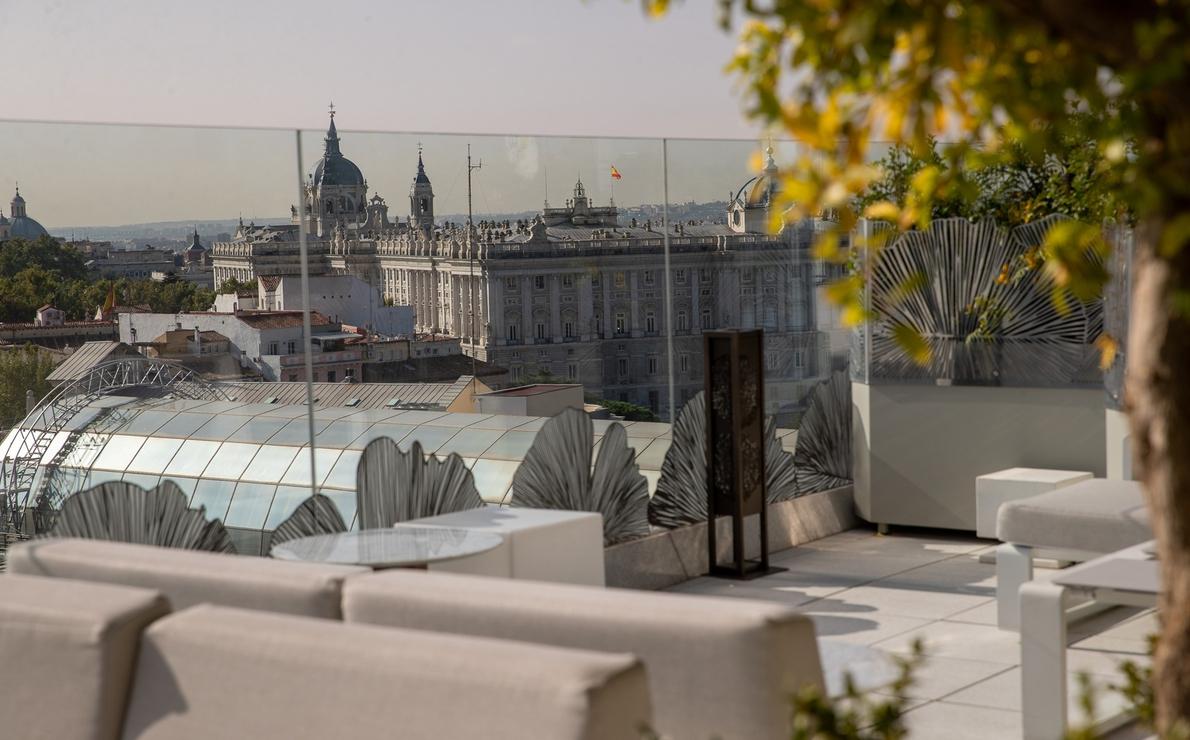 Galería hoteles con vistas. VP Plaza España Design.