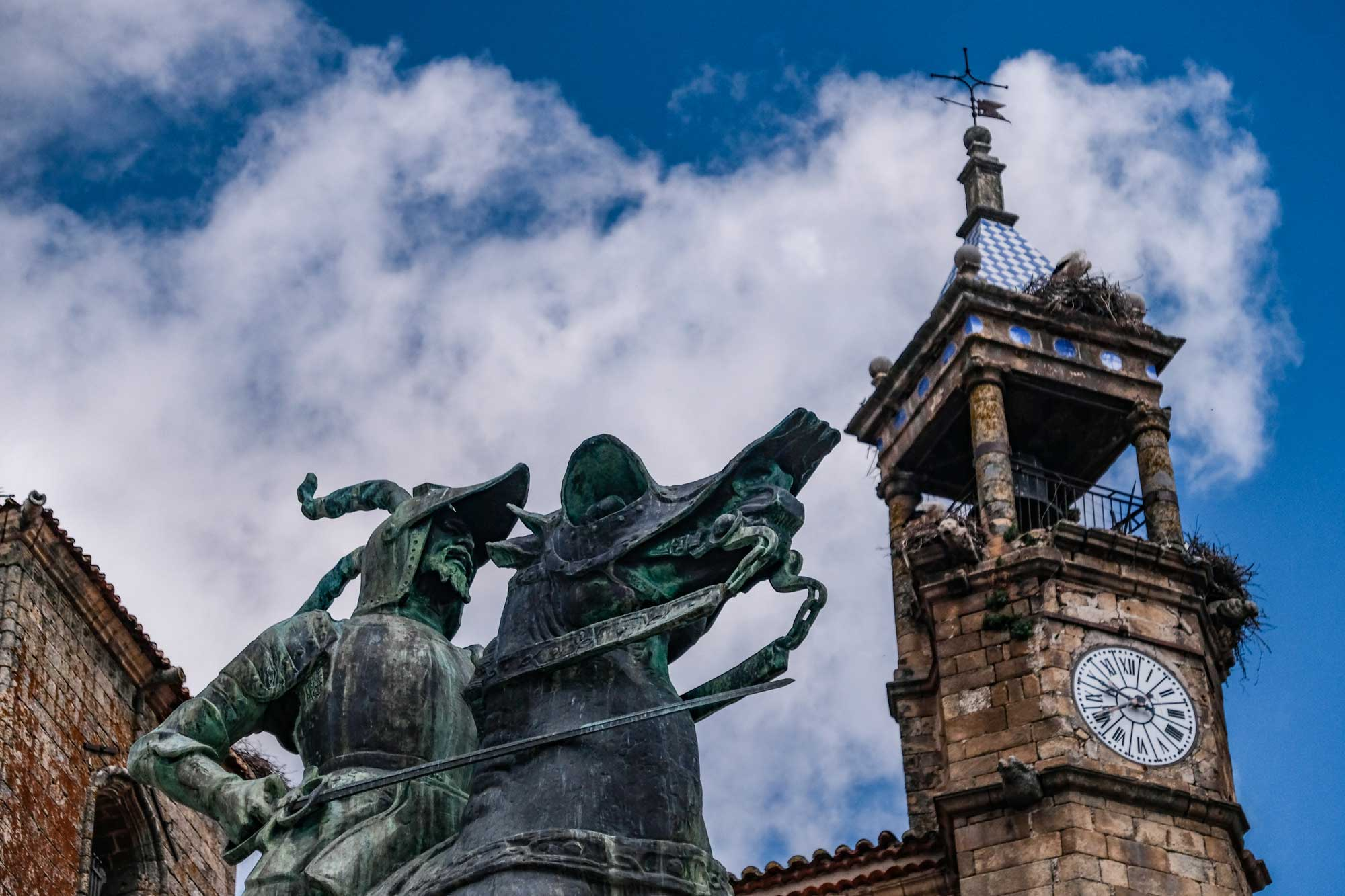 Estatua de Francisco Pizarro.