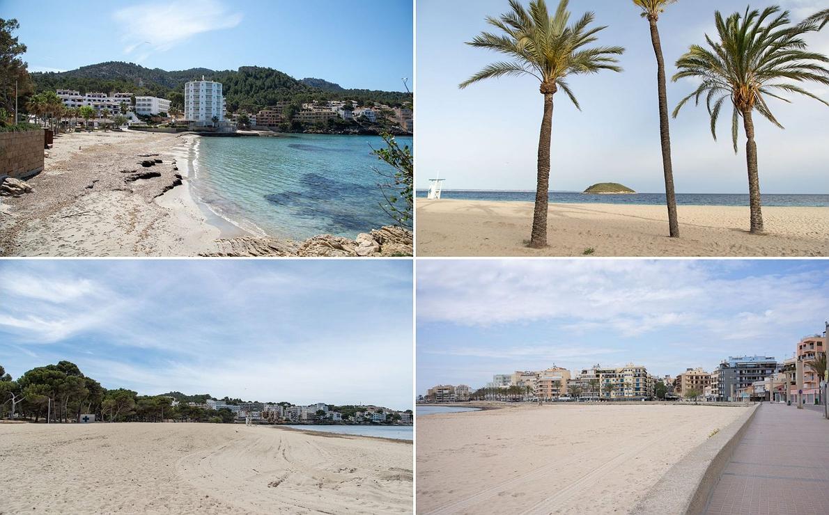 Mallorca vacía: playas desiertas