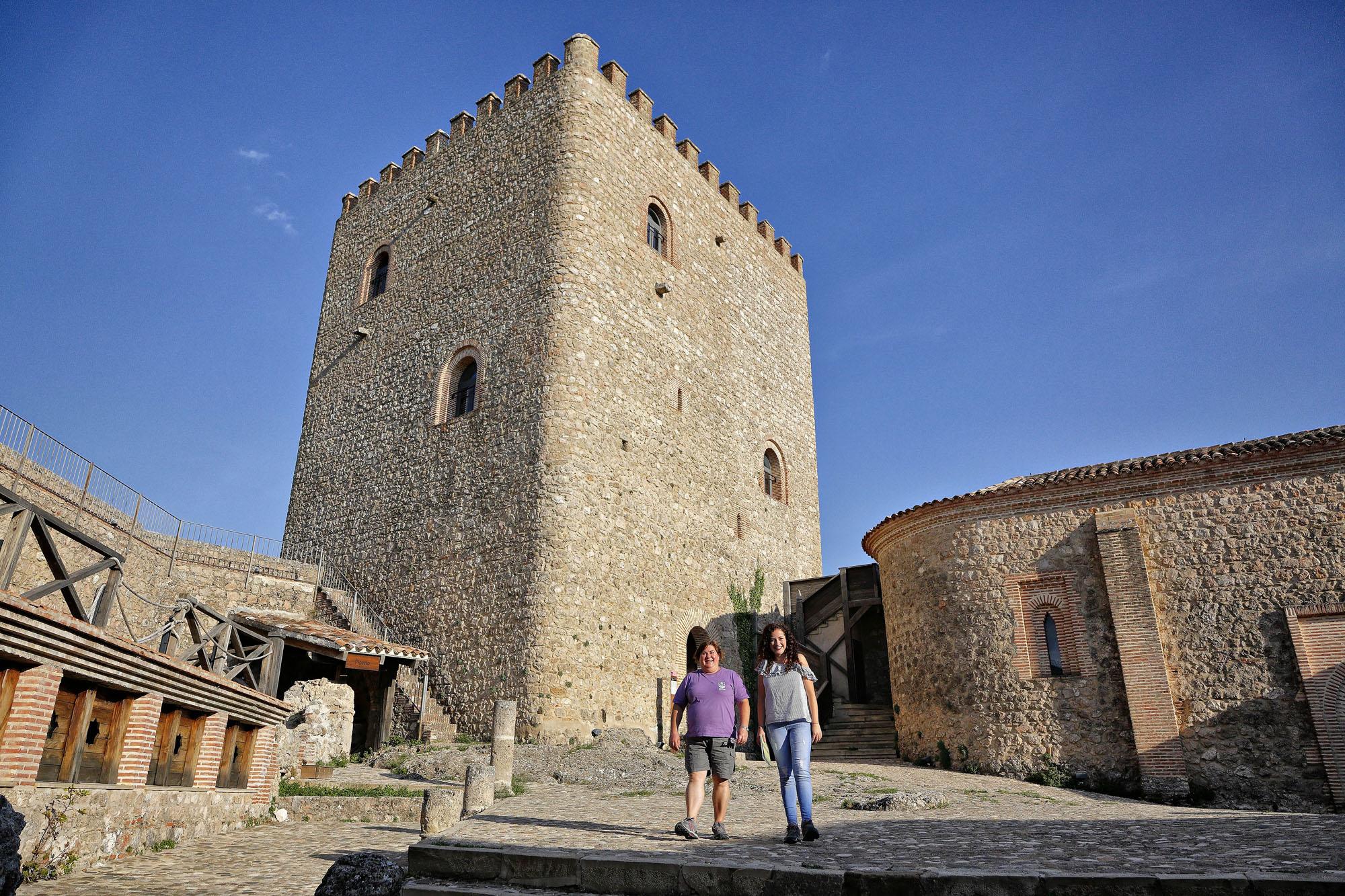Estamos en el castillo más alto del Parque Natural de Cazorla, Segura y las Villas.