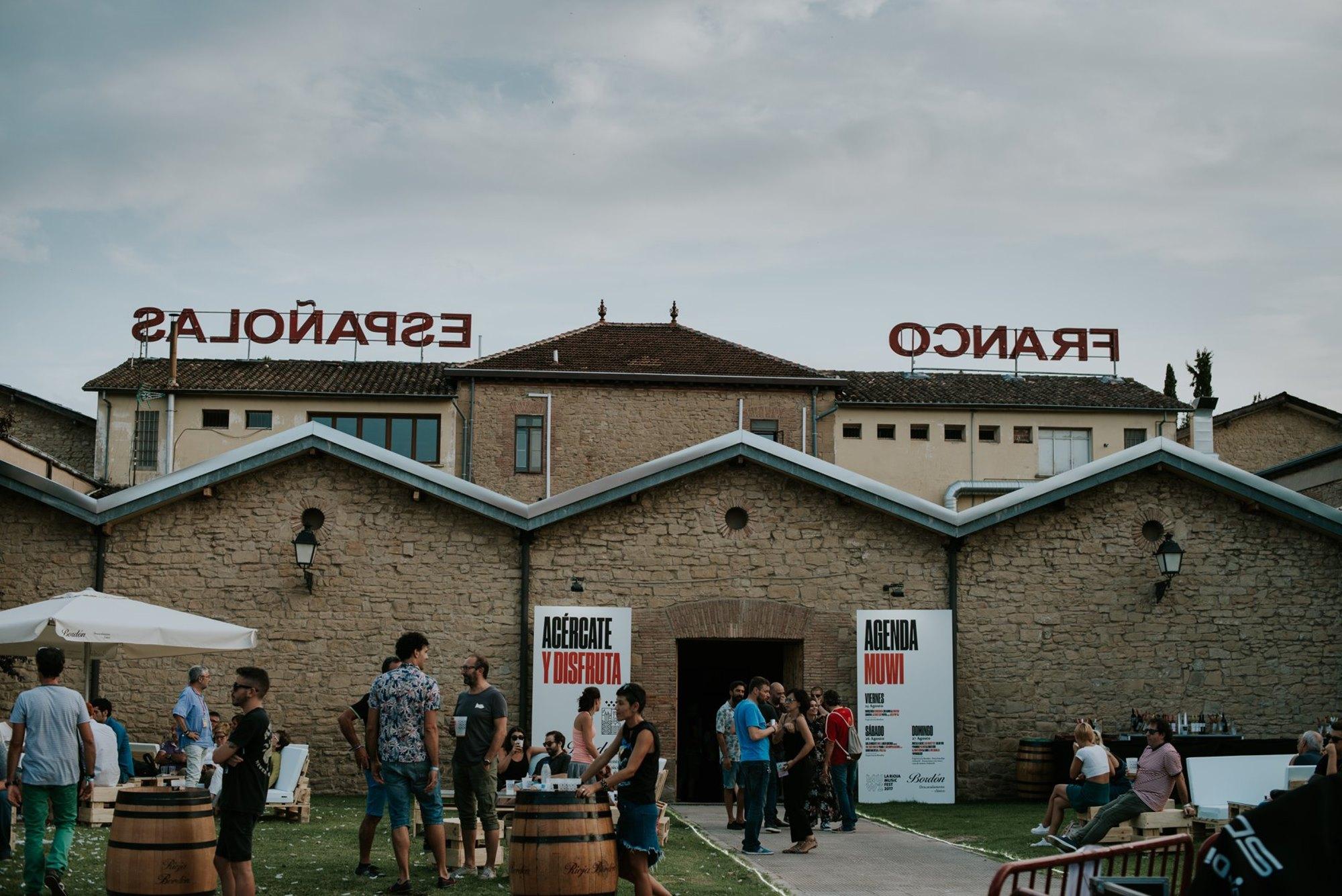 Las 'Bodegas Franco-Españolas' organizan multitud de actividades en sus instalaciones, sobre todo en verano. Foto: Facebook 'Bodegas Franco-Españolas'