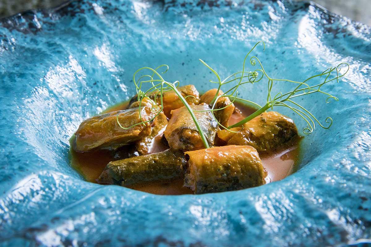 Mejillones del Delta con salsa marinera. Foto: Xerta Tapas Bar.