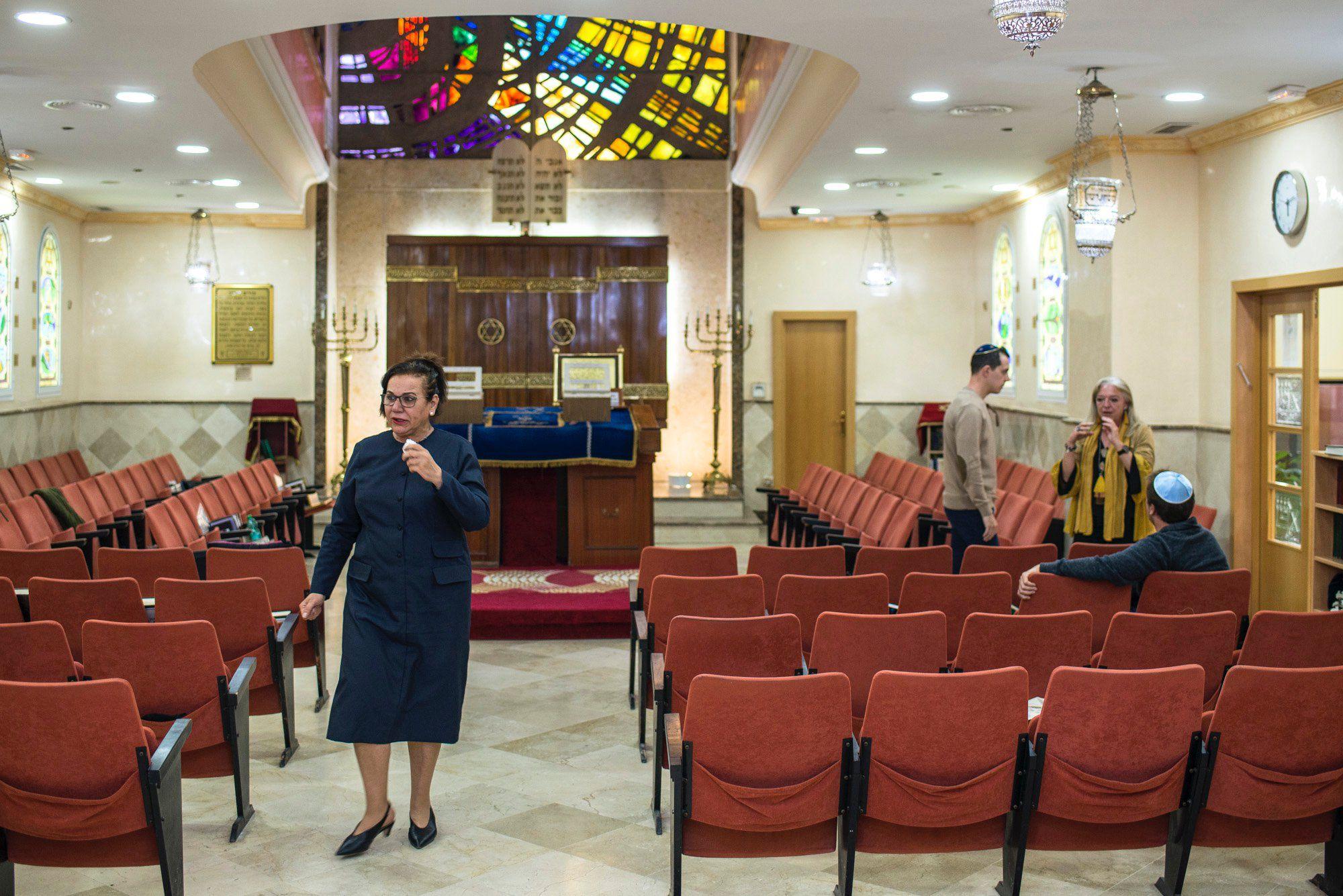 Ceuta: interior de la sinagoga Bet-El