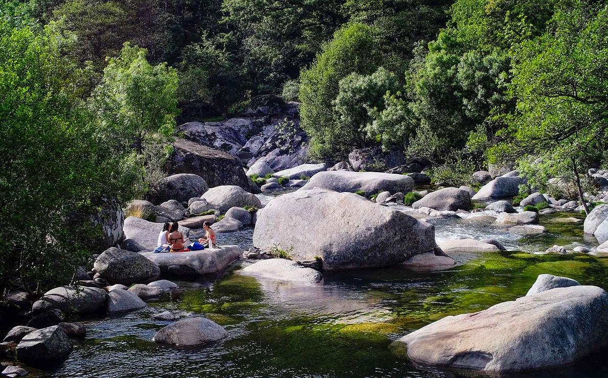 Reserva Natural de la Garganta de los Infiernos en el Valle del Jerte