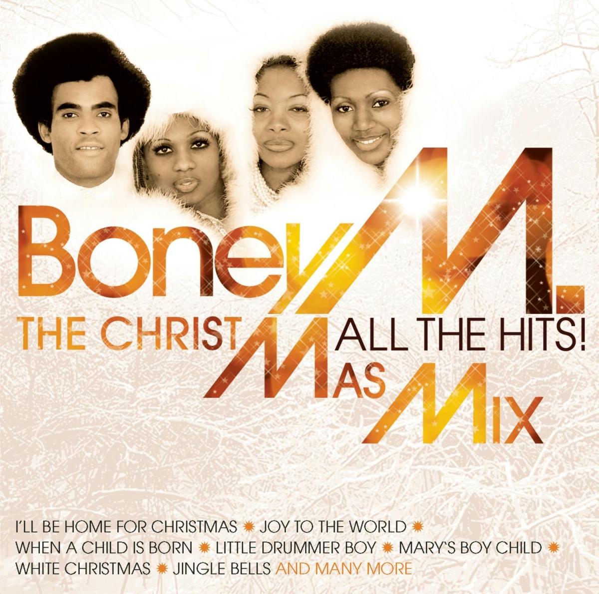 El grupo alemán Boney M. también se subió al carro de los discos navideños.