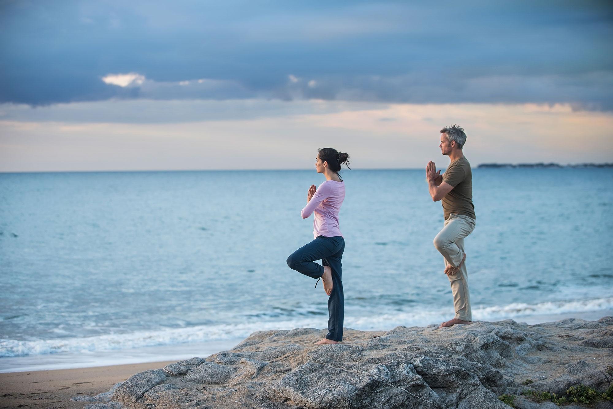 Elegir un lugar especial y darse a la introspección en pareja. Foto: Shutterstock.