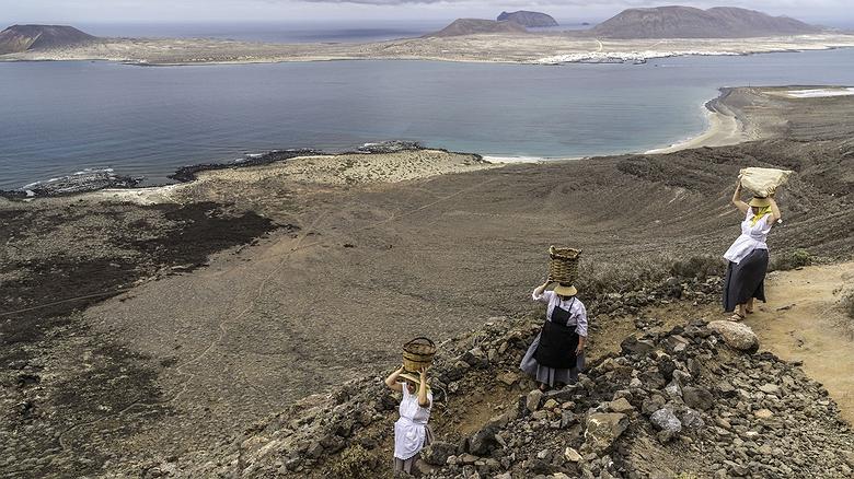 El Camino de las Gracioseras (Isla de la Graciosa)