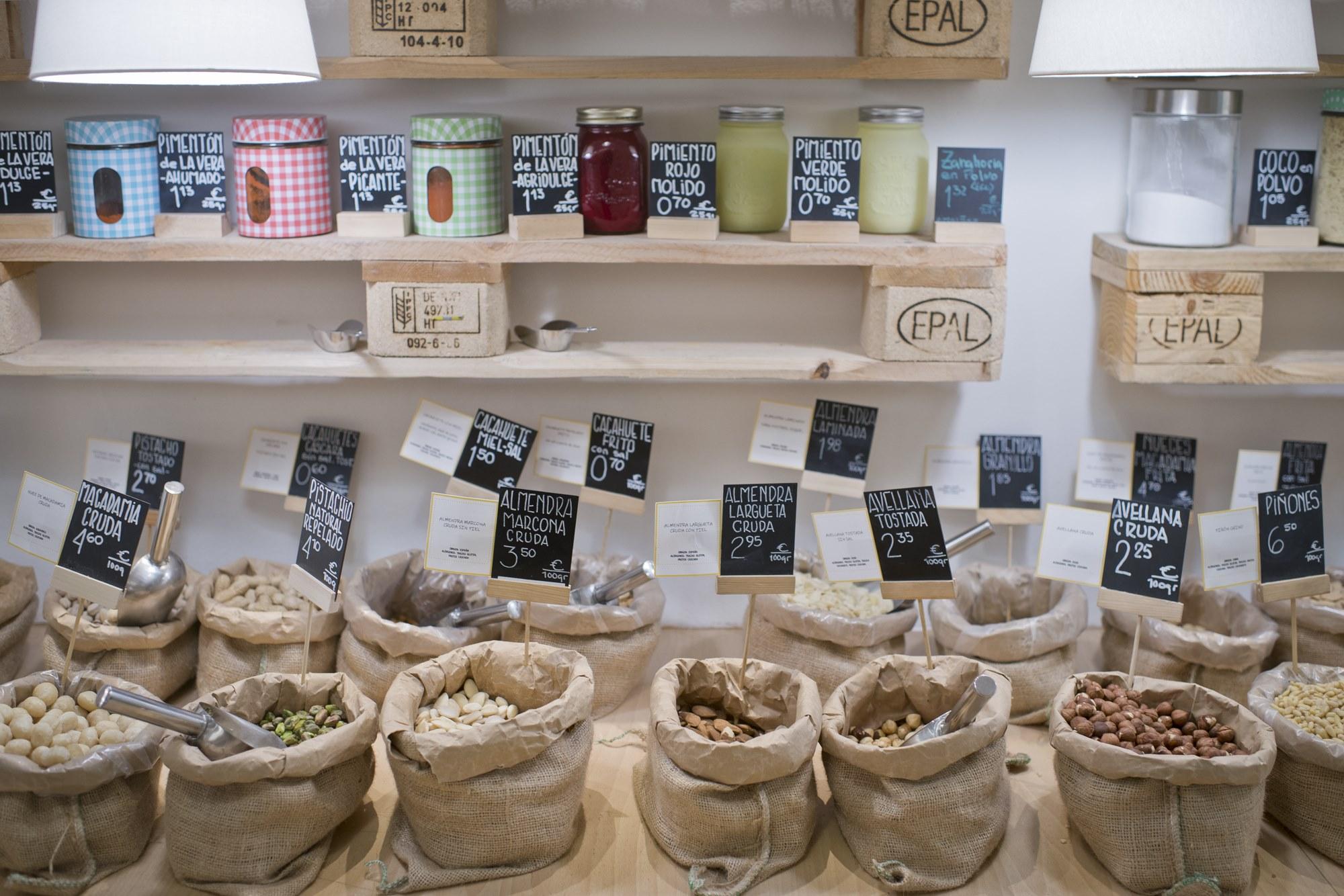 En 'Pepita&Grano' podemos encontrar mucho más que frutos secos.