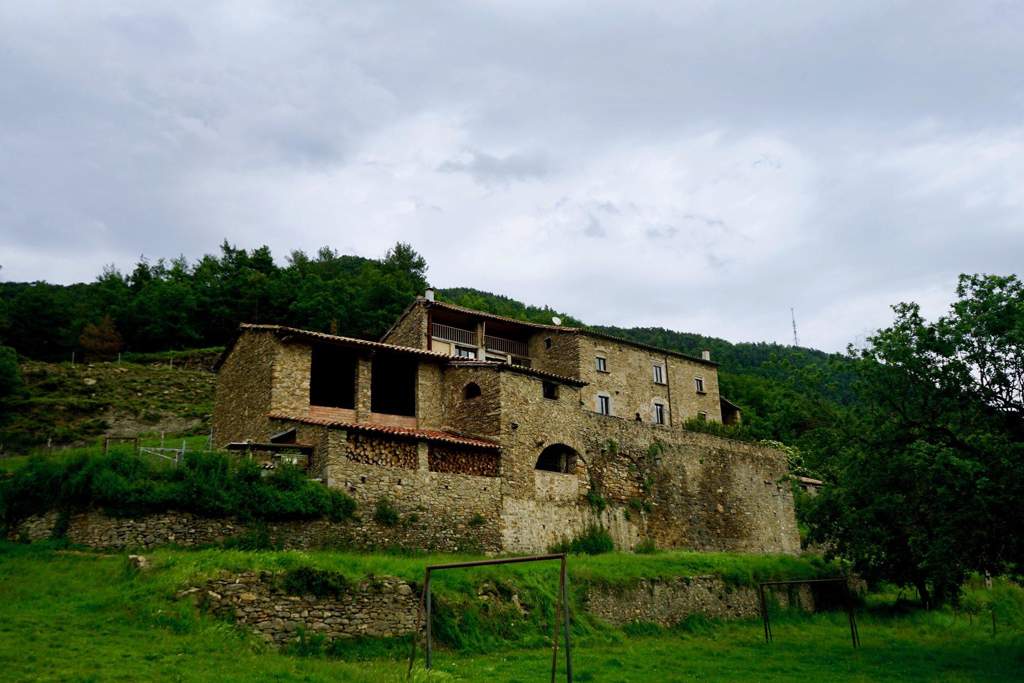 Los primeros documentos encontrados de la masía datan de 1366. Foto: Javier Martínez Mansilla