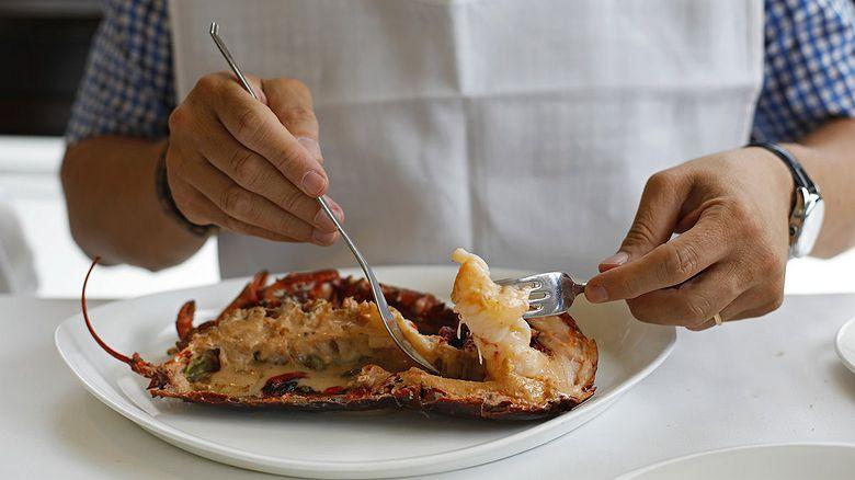 Restaurante 'Kaia - Kaipe': pescado a la brasa en Getaria