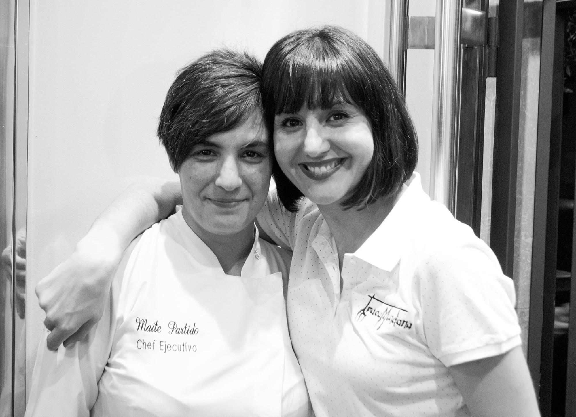 Romina Saldaño y Maite Partido, las artífices de 'Tracamundana'. Foto: Facebook Tracamundana.