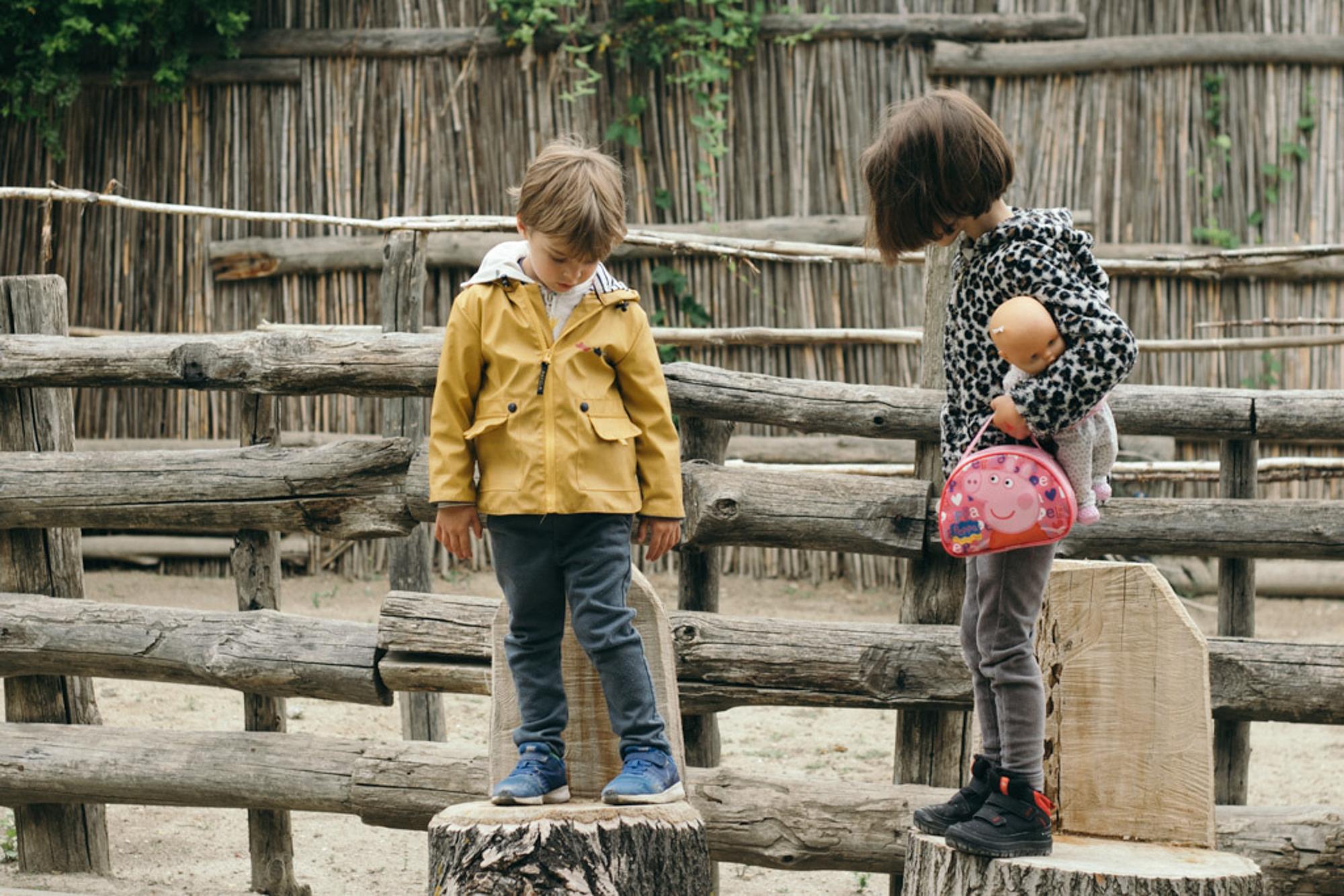 Los exteriores son una atracción en sí misma para los más pequeños.