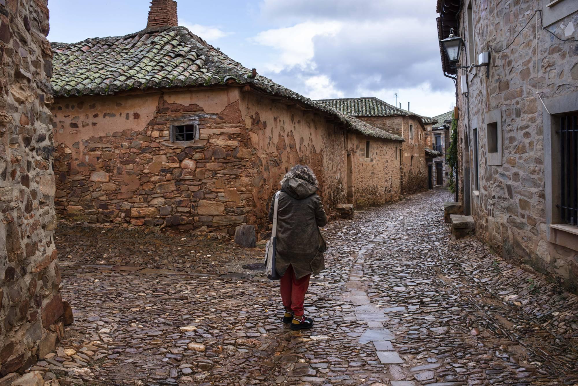 En Castrillo, las calles permanecen como las que recorrieron los británicos y ocuparon los de Napoleón.