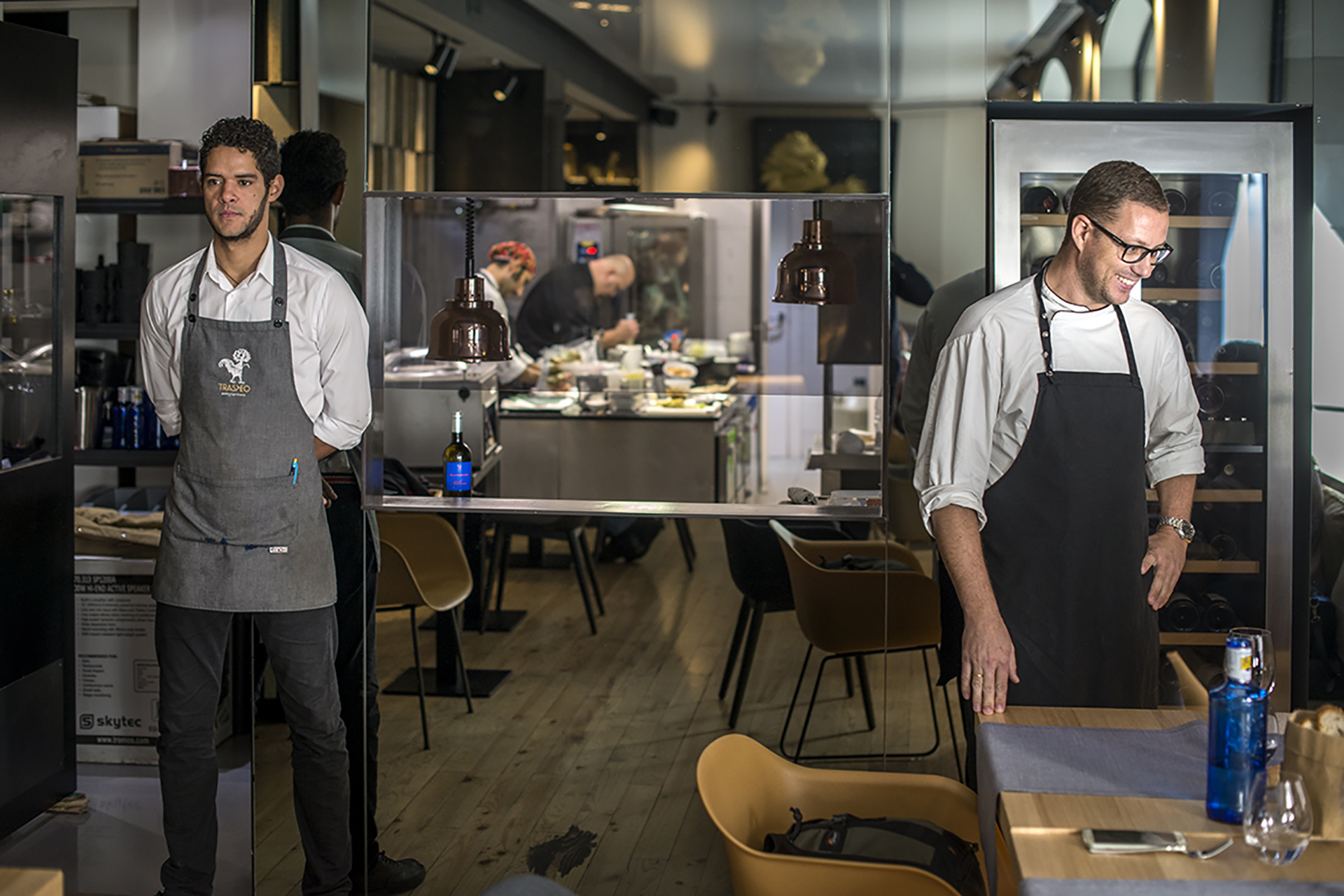 Teo Rodríguez viaja dentro y fuera de su cocina.
