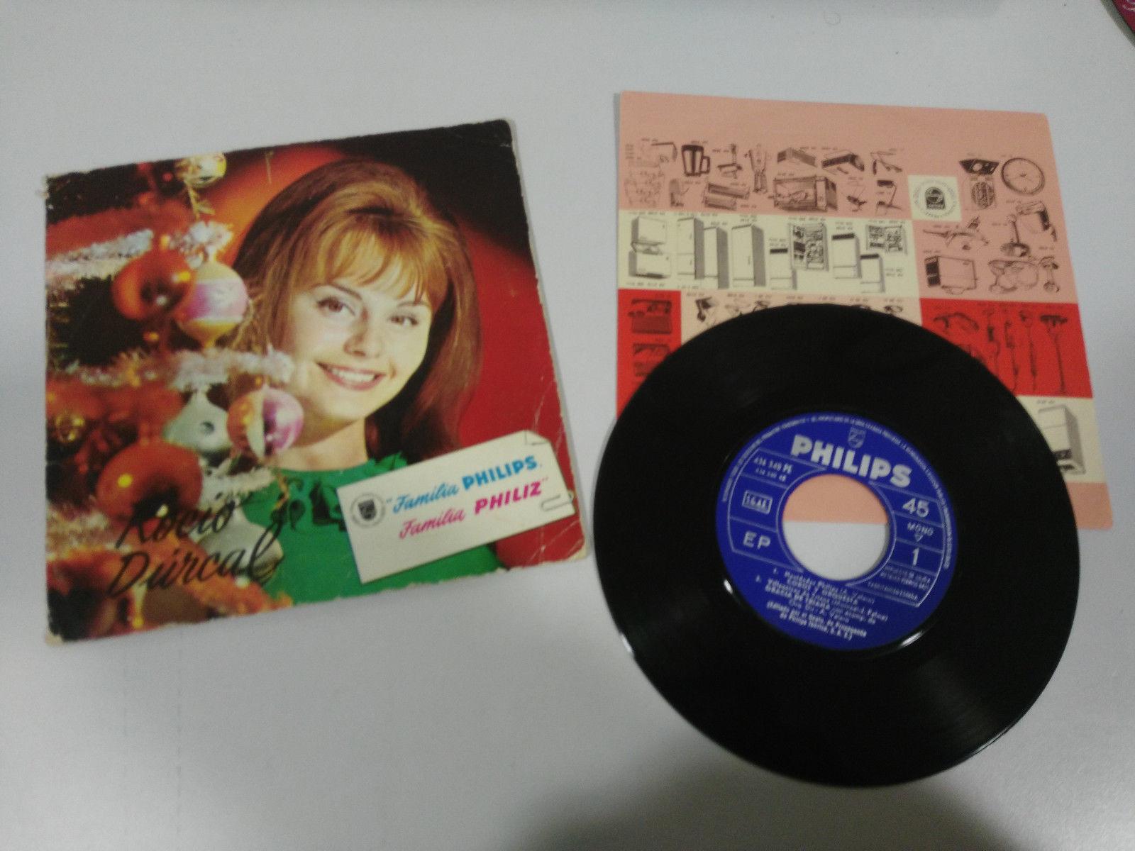 Como buena estrella de finales del siglo pasado, Rocío Dúrcal cantaba a estas fechas tan entrañables. Foto: Ebay.