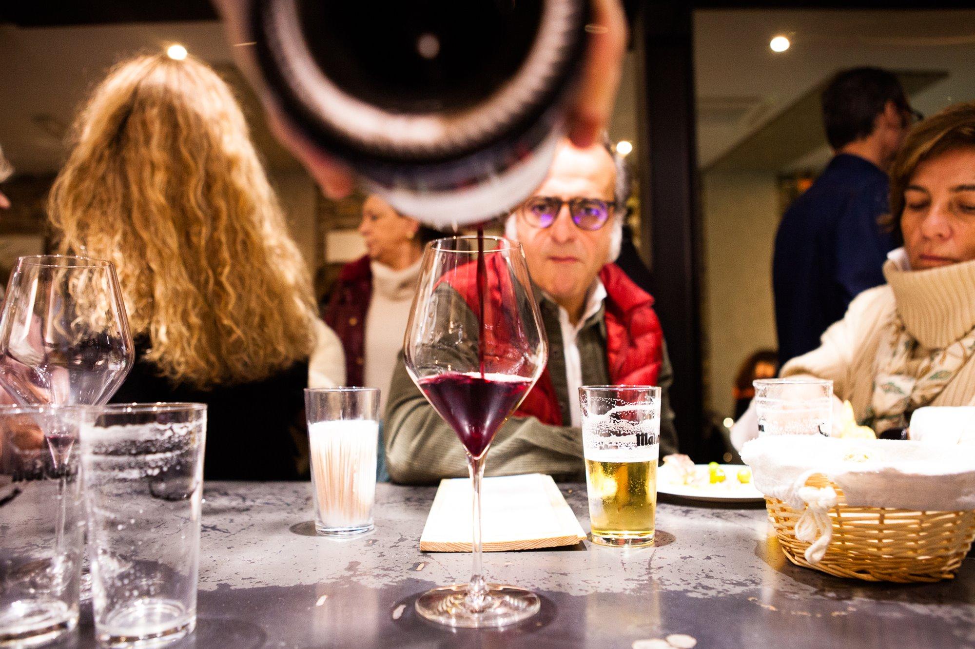Las referencias de vinos cambian cada semana en 'La Sal'.