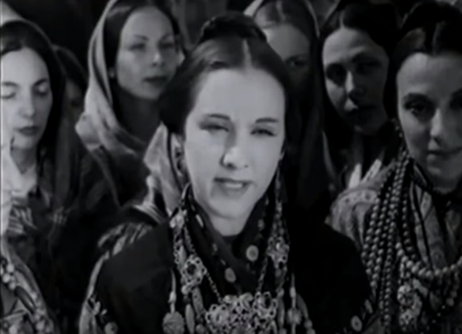 Fotograma de 'La Esfinge Maragata' (1950), protagonizada por Paquita de la Ronda. Foto: Youtube.