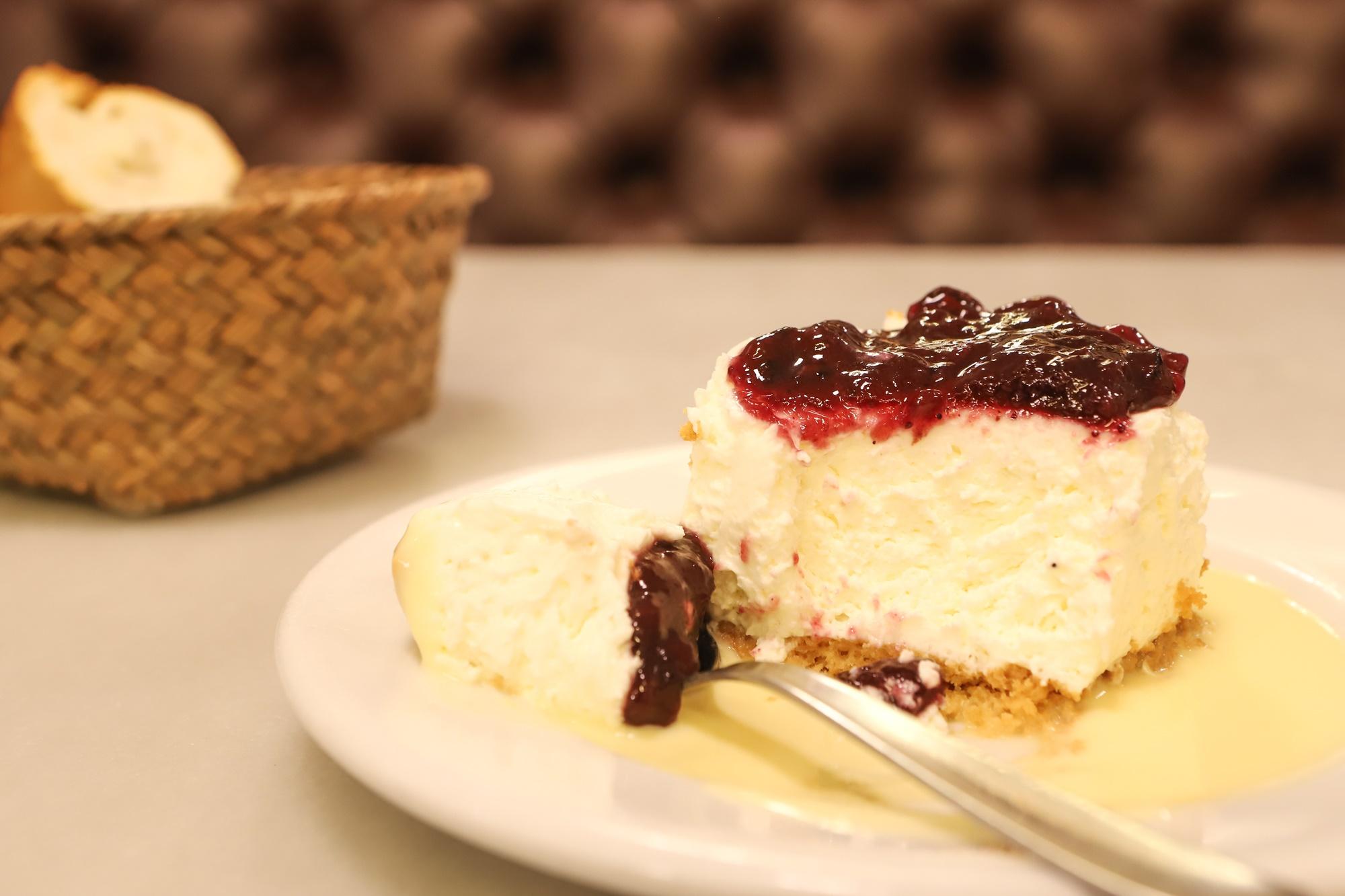 tarta de queso bodega donostiarra
