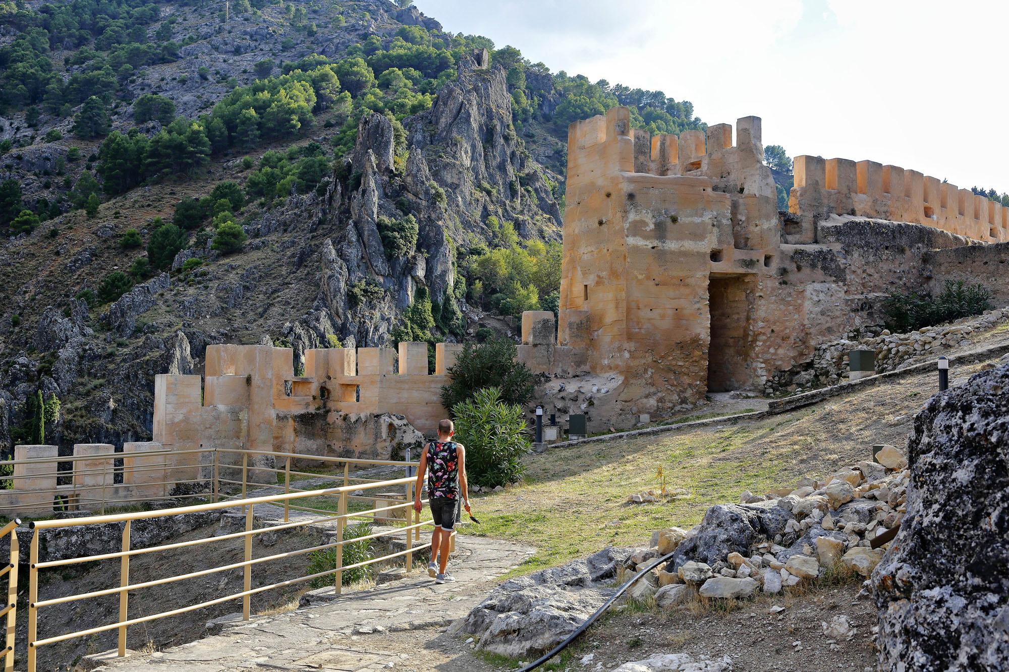 La fortaleza fue durante la Edad Media sede de los caballeros templarios.