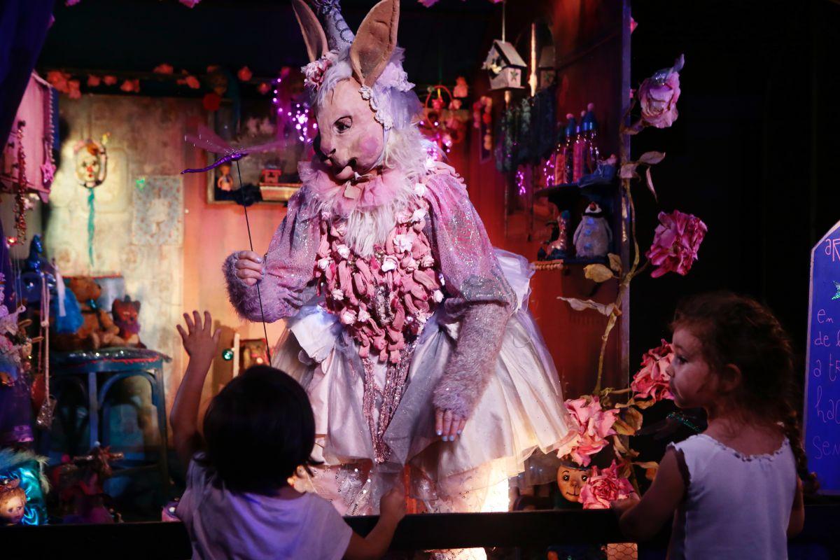 En 'Espacio Abierto', música, teatro, danza, cine y juegos al servicio de los niños.