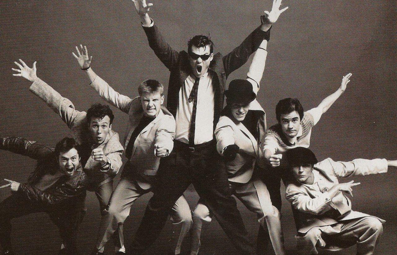 Los integrantes de Madness durante la época de los 80. Foto: Pinterest.