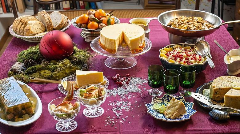 Recetas para bufet de Navidad