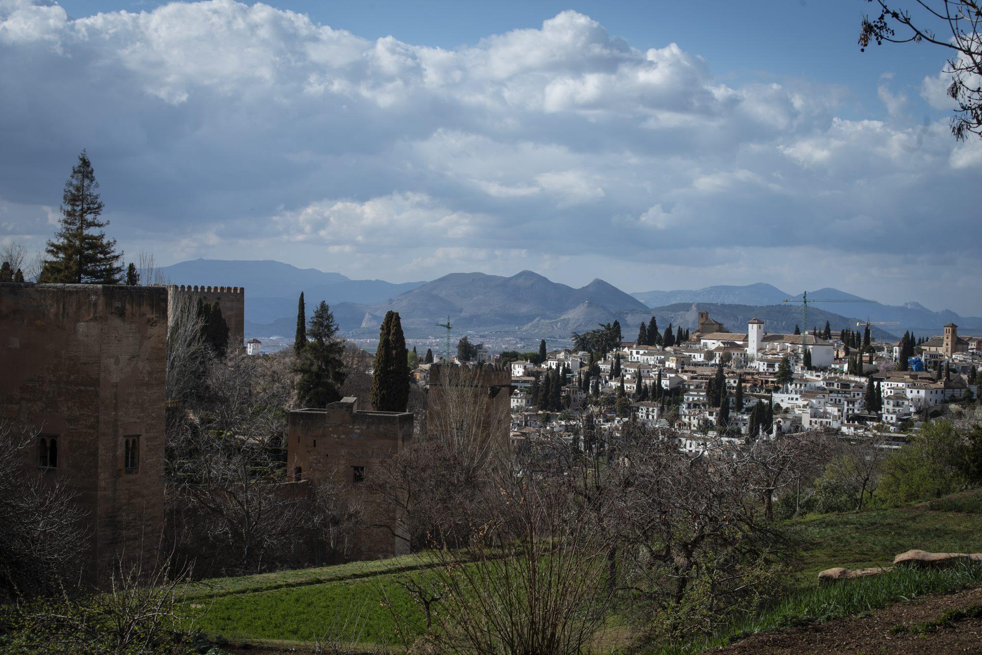 alhambra y albaicin desde generalife