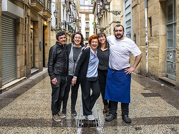 'Ganbara': restaurante mítico de pintxos de Donostia