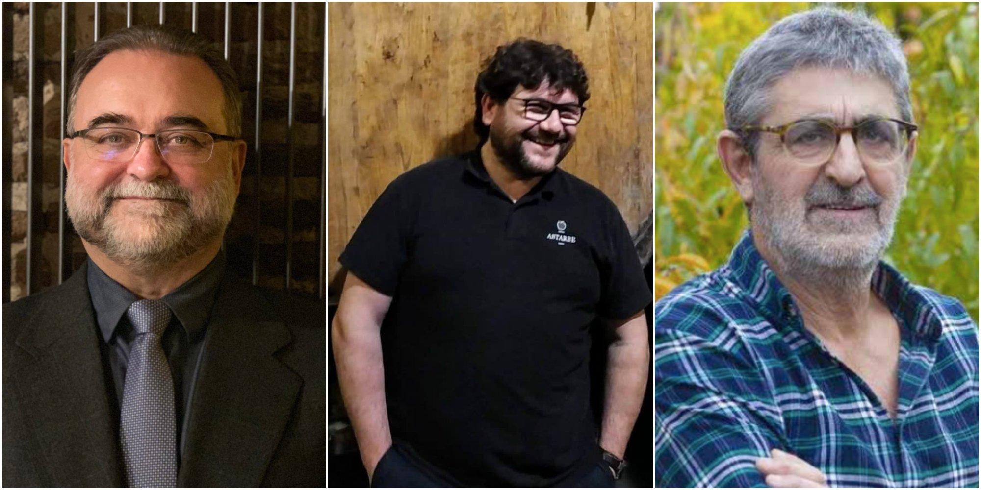 Conversaciones Heladas: Fernando Gallardo, Hur Astarbe y Emilio Barco.