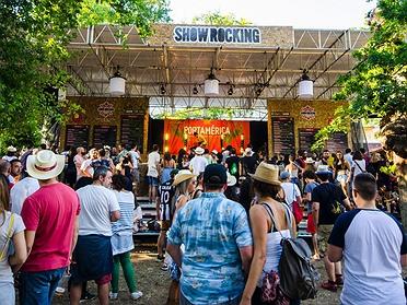 Festivales de música y gastronomía