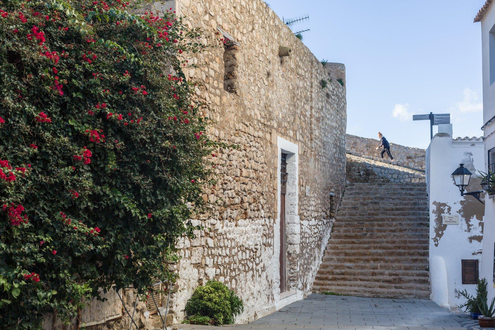 Ibiza en otoño e invierno: Dalt Vila