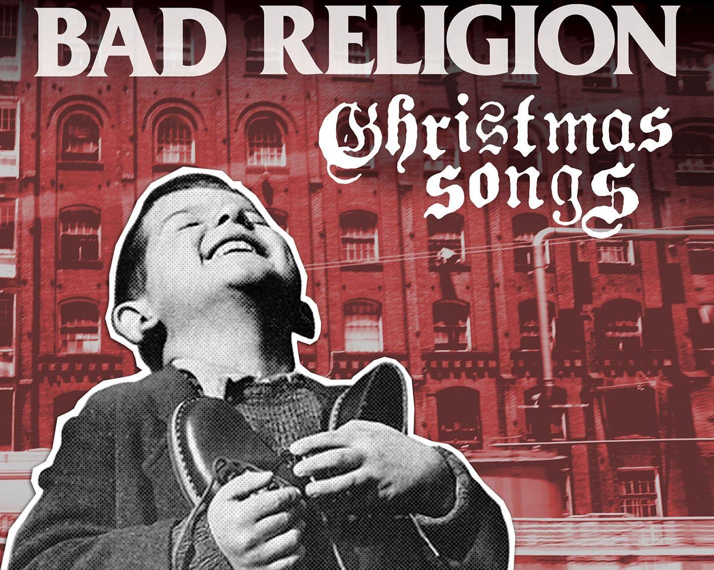 Especialmente tierna es la carátula que eligieron los de California para su disco en 2013. Foto: Facebook Bad Religion.