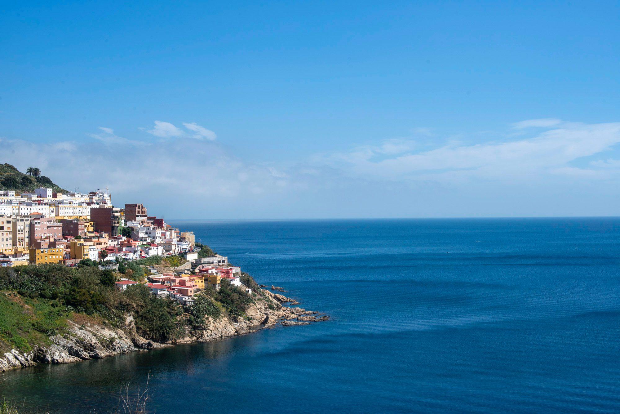 Mirador de Ceuta: las playas agrestes de Benzú