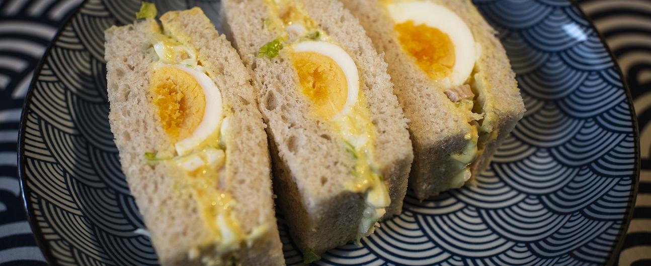 Recetas de sándwich de huevo cocido