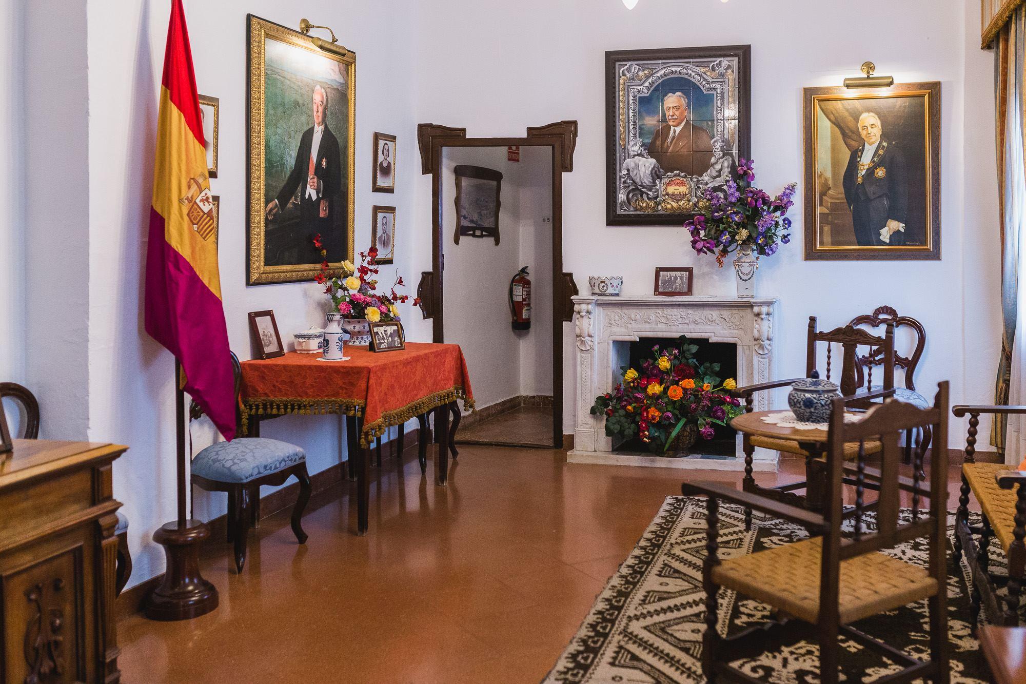 La casa-museo de Niceto Alcalá Zamora es una oportunidad para conocer las diferentes facetas del presidente de la II República.