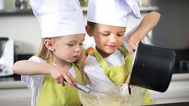 Recetas sencillas para cocinar con niños