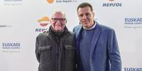 Photocall Gala Soles Guía Repsol 2020. Juan Mari Arzak y Oriol Castro