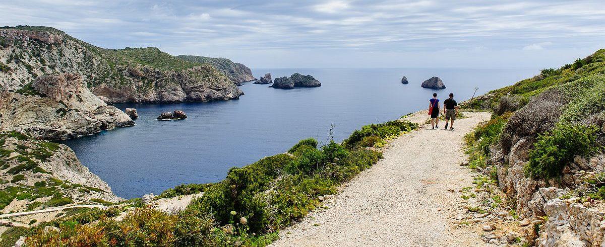 Ruta por la Isla de Cabrera (Baleares)