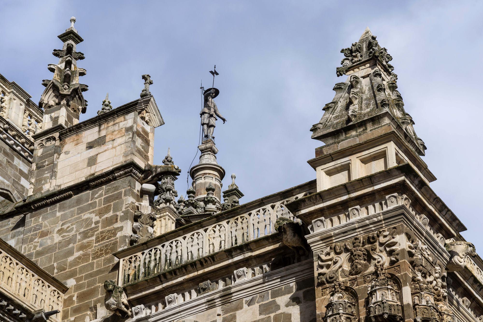 Pedro Mato, el héroe de los astorganos y vigía de la catedral.