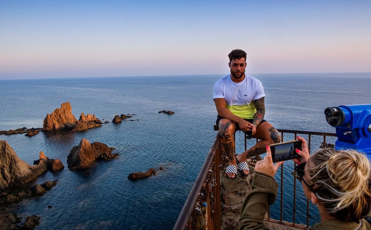 Mirador de Arrecife de las Sirenas (Almería)