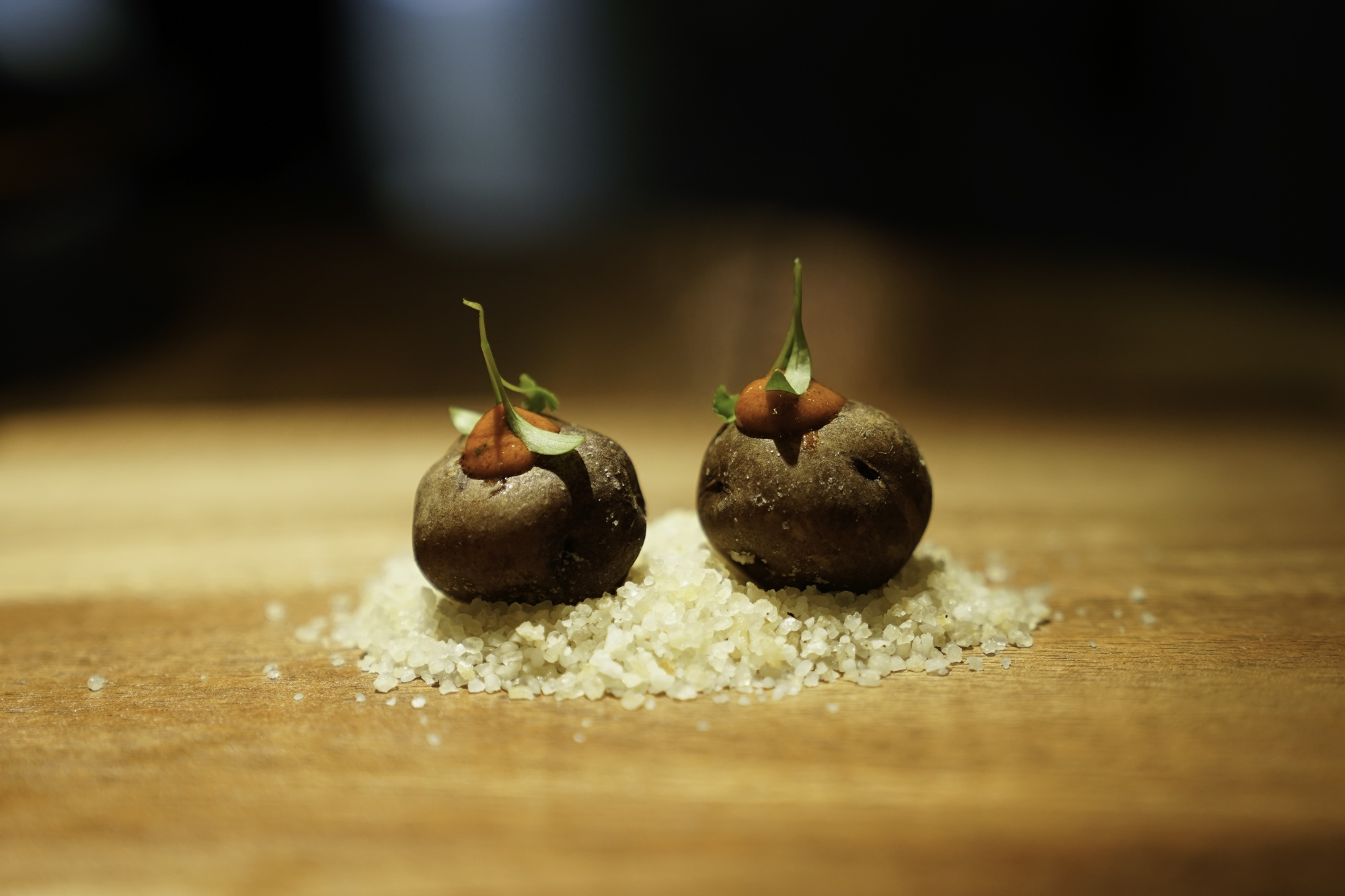 La papa negra se cocina en 'Gofio' de múltiples maneras.
