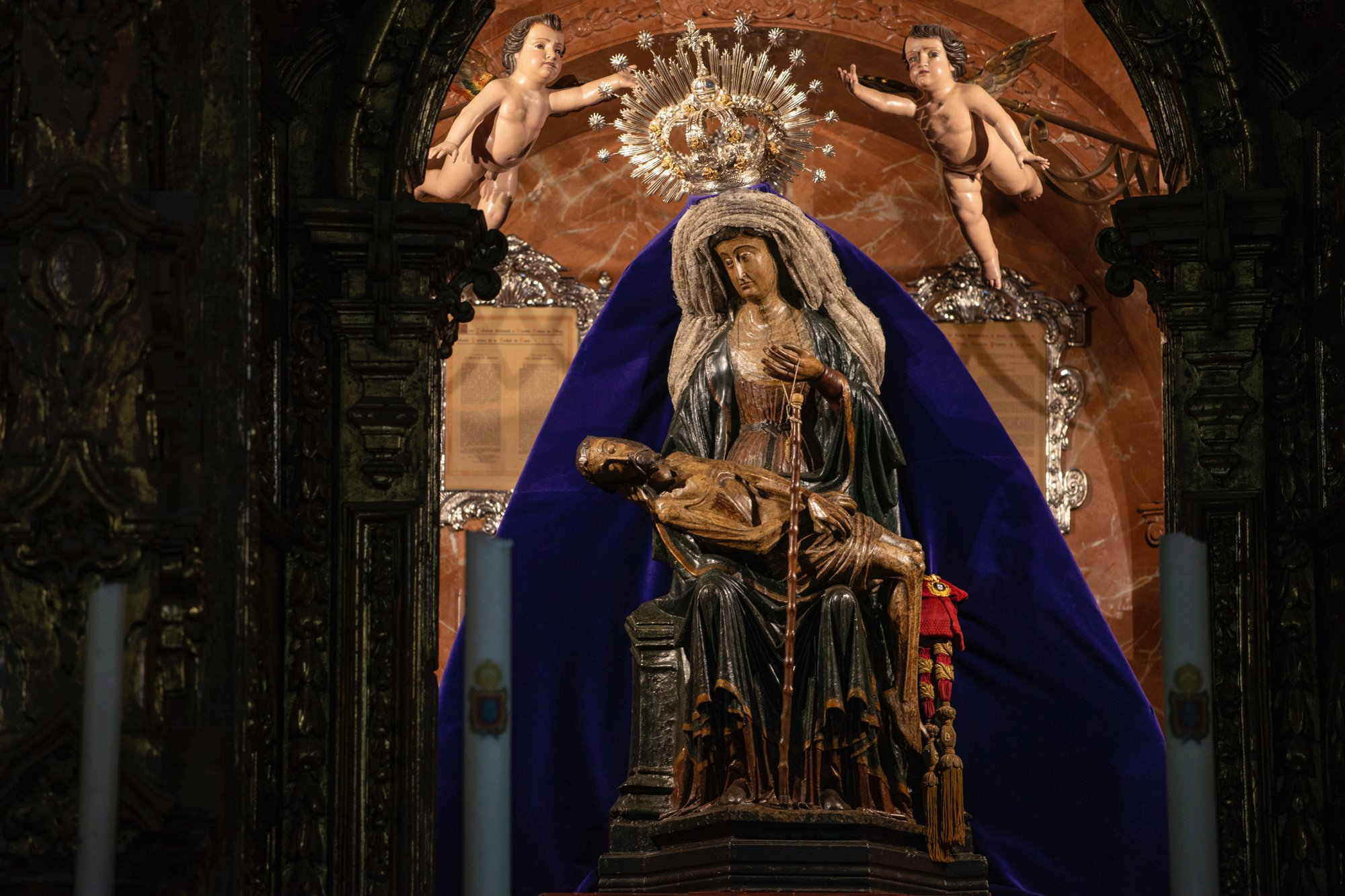 Ceuta: imagen de la Virgen de África, patrona de la ciudad autónoma