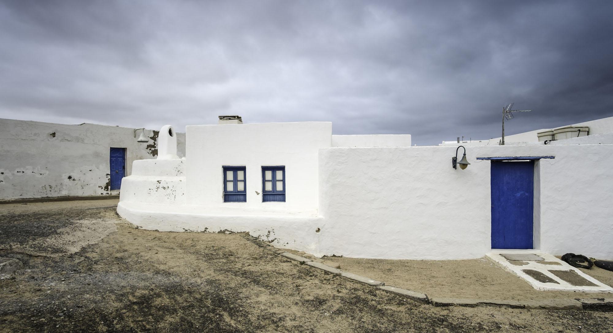 Casas de la localidad Caleta de Sebo.