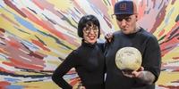 Photocall Gala Soles Guía Repsol - Safe Cruz y Aida González, de Gofio