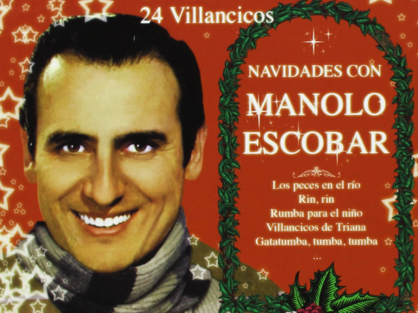 En la amplia y exitosa discografía de Manolo Escobar figuran varios discos enfocados a estas fechas. Foto: Amazon