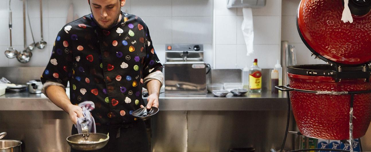 Restaurante 'Medea', cocina de autor en Ponzano (Madrid)