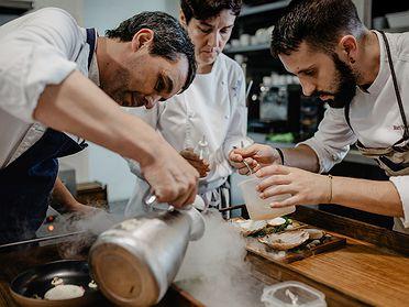 'Culler de Pau': restaurante gallego de Javier Olleros