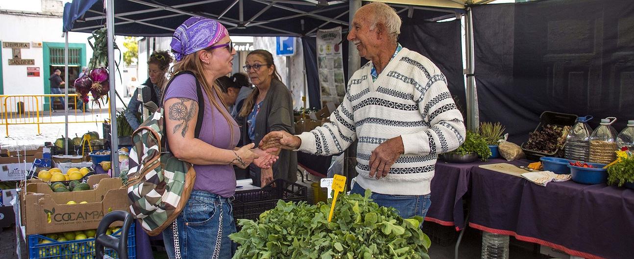 Mercadillo agrícola de Arrecife (Lanzarote)