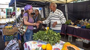 Mercado agrícola de Arrecife (Lanzarote)