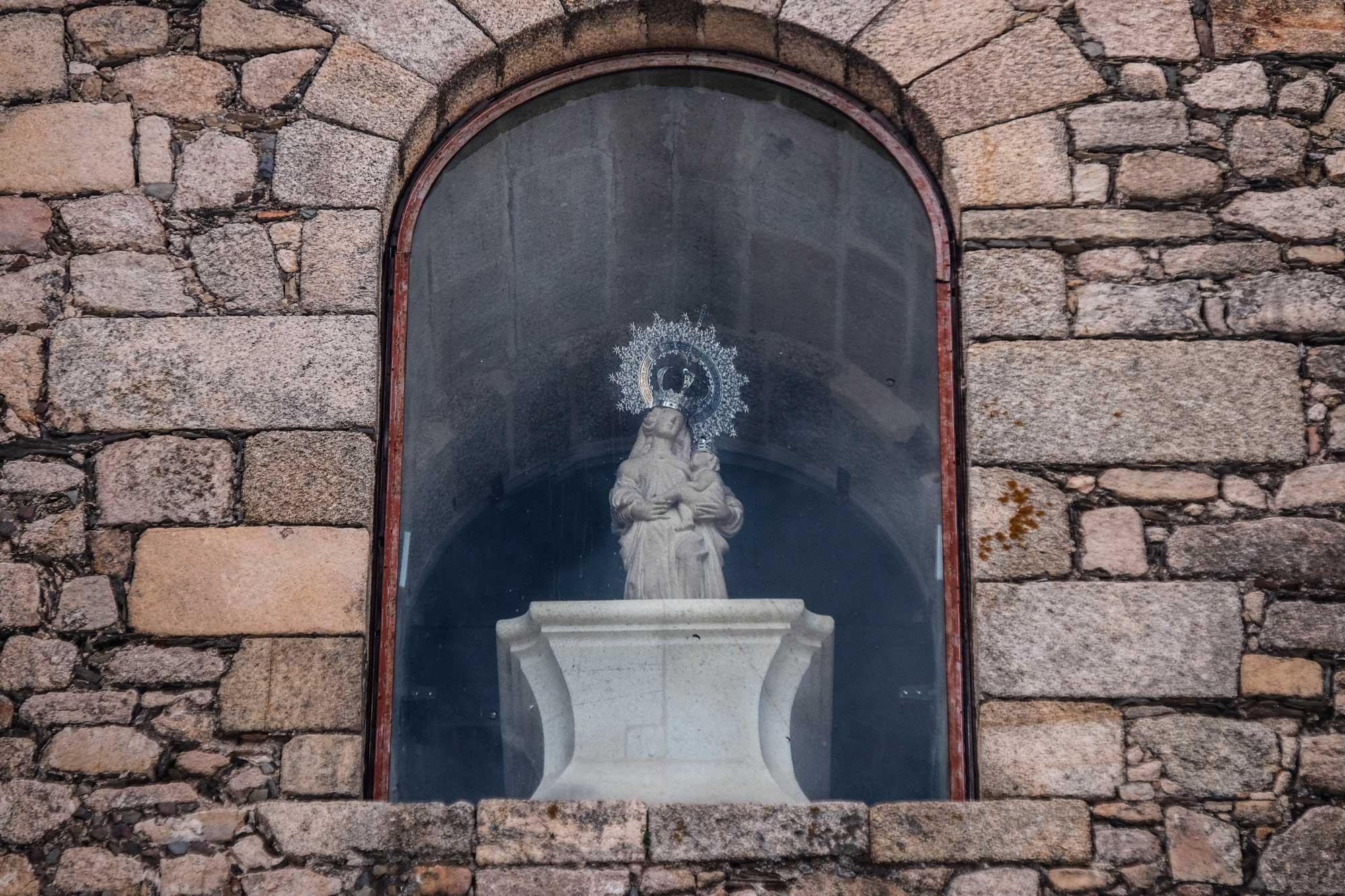 La virgen y patrona de Trujillo: Nuestra Señora de la Victoria